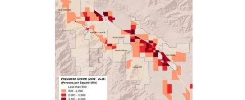 Growth Map Coachella Valley